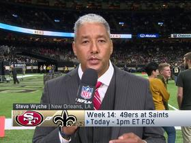 Watch: Wyche: 49ers will have Tony York's initials on helmet vs. Saints