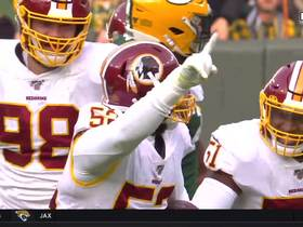 Watch: Ryan Anderson pickpockets Aaron Rodgers for key Redskins turnover