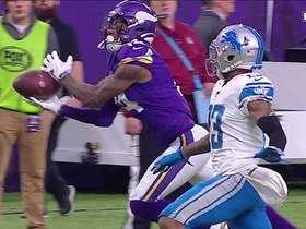 Watch: Stefon Diggs beats Darius Slay for outstanding 44-yard grab
