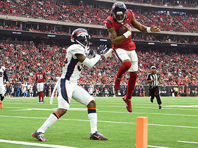 Watch: Can't-Miss Play: Houston, we have liftoff! Watson launches in for TD