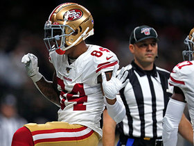Watch: Bourne again! Kendrick scores second TD of game on Jimmy G's dime