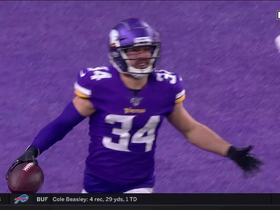 Watch: Andrew Sendejo seals Vikings win with INT off David Blough