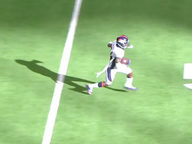 Watch: Will Parks ices Denver's road win with late INT