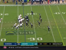 Watch: Philip Rivers slings 19-yard strike to Mike Williams