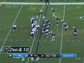 Watch: Khalil Blasingame bursts for 23 yards down sideline on play action