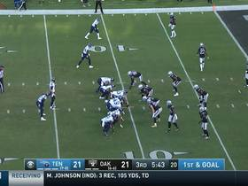 Watch: Derrick Henry uses Superman dive over the goal line for TD