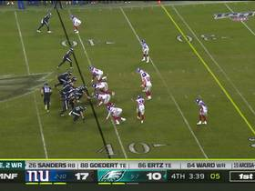 Watch: Wentz puts seam throw on a rope to Goedert for 28 yards