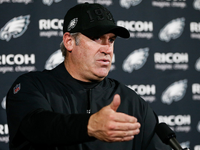 Watch: Doug Pederson reacts to first win since bye week