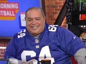 Watch: Actor Joe Gannascoli reflects on filming a scene with Lawrence Taylor