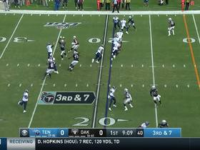 Watch: Mic'd Up: Titans continue their winning ways with a win over the Raiders