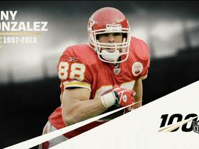 Watch: Tony Gonzalez reacts to being named to All-Time Team