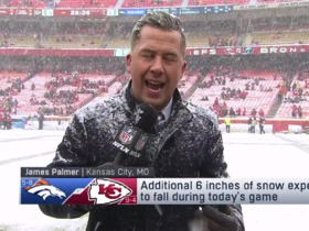Watch: Palmer: Visibility a concern ahead of snowy Broncos-Chiefs game in Week 15