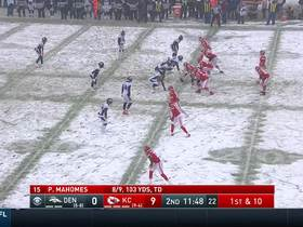 Watch: Shelby Harris does snow angels after BIG sack
