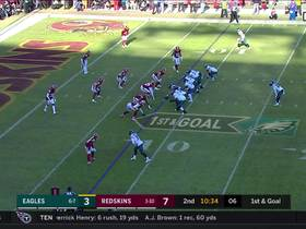 Watch: Sanders breaks Eagles rookie record for most scrimmage yards with 7-yard run