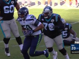 Watch: Right place, Wright time! K.J. nabs INT after Poona Ford's deflection