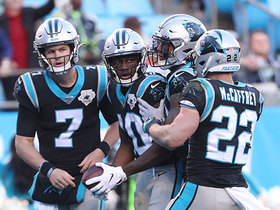 Watch: Kyle Allen extends play to hit Curtis Samuel for late TD