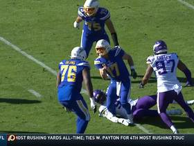 Watch: Philip Rivers makes it rain to Mike Williams for 39 yards