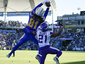 Watch: Mike Williams uses 6-foot-5 frame for leaping TD grab