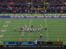 Watch: Kai Forbath's first FG with Cowboys is 50-yard MOONSHOT