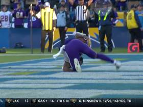 Watch: Mike Boone shows his power with diving TD effort