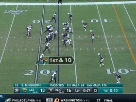 Watch: Dion Jordan commits key roughing-the-passer penalty to move Jags down field