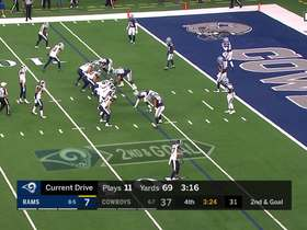 Watch: Rams go to Gurley on the ground for TD and two-point conversion