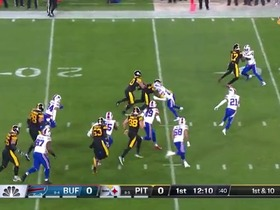 Watch: James Conner's first rush since Week 11 goes for 15 yards