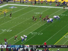 Watch: Steelers' stratospheric punt travels only 22 yards