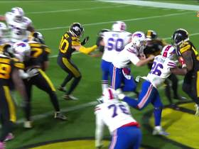 Watch: Bills' OL paves the way for Josh Allen's untouched TD run