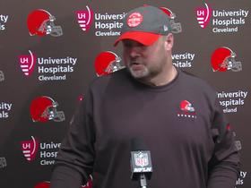 Watch: Kitchens: 'I don't care about my future as Browns coach'