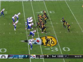 Watch: James Conner throws nasty juke on way to 17-yard gain