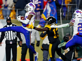Watch: Levi Wallace and Bills seal game with fourth interception