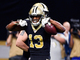 Watch: Drew Brees slings 15-yard TD pass to Michael Thomas with ease