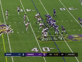 Watch: Mike Boone's bobble turns into tip-drill INT for Bears