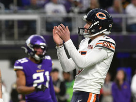 Watch: Eddy Pineiro drills clutch FG to give Bears late lead