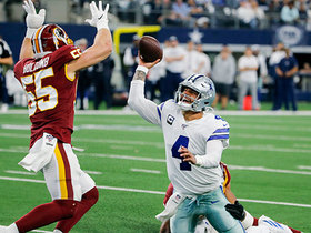 Watch: Montez Sweat hunts down Dak for field-flipping strip-sack