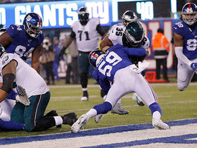 Watch: Boston Scott slices through Giants' D for untouched TD