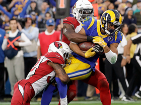 Watch: Ex-USC WR Woods scores TD in Rams' final game at L.A. Coliseum