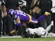 Watch: Vonn Bell scoops Adam Thielen's fumble for early Saints turnover
