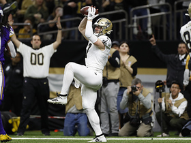 Watch: Taysom Hill runs by Harrison Smith for impressive TD grab