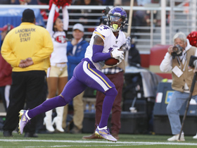 Watch: Can't-Miss Play: Stefon Diggs leaves 49ers in the dust on 41-YARD TD