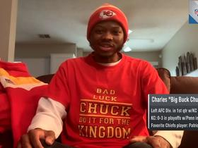 Watch: Chiefs super-fan Charles 'Big Buck Chuck' Penn explains why he leaves Chiefs games early