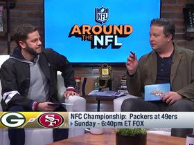 Watch: Around The NFL previews the NFC Championship Game