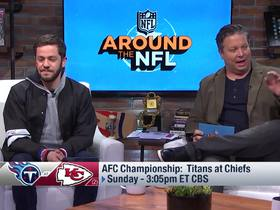 Watch: Around The NFL previews the AFC Championship Game