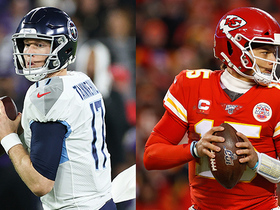 Watch: David Carr's Championship Sunday QB stat predictions