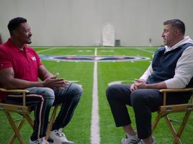 Watch: Mike Vrabel discusses Ryan Tannehill's resurgence with Willie McGinest