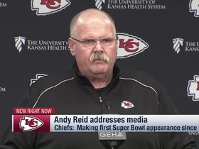 Watch: Andy Reid: 'I feel like I've got future Hall of Famers on this team'