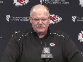 Watch: Reid on how he celebrated AFC title: 'I had a cheeseburger and went to bed'