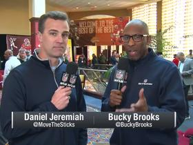 Watch: Jeremiah and Brooks preview Reese's Senior Bowl WR and DL standouts