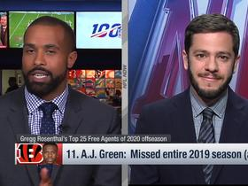 Watch: Rosenthal: Teams would be 'happy' to add A.J. Green to their rosters